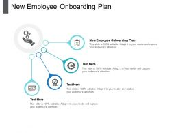 New Employee Onboarding Plan Ppt Powerpoint Presentation Styles Ideas Cpb