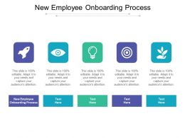 New Employee Onboarding Process Ppt Powerpoint Presentation Show Cpb