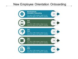 New Employee Orientation Onboarding Ppt Powerpoint Presentation Styles Format Cpb
