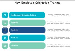 New Employee Orientation Training Ppt Powerpoint Presentation File Layout Ideas Cpb