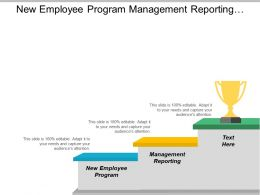 New Employee Program Management Reporting Value Project Management