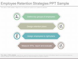 New Employee Retention Strategies Ppt Sample