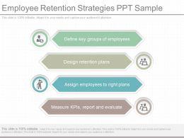 New Employee Retention Strategies Ppt Sample