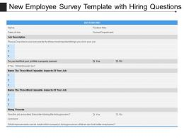 New Employee Survey Template With Hiring Questions