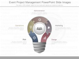 New Event Project Management Powerpoint Slide Images