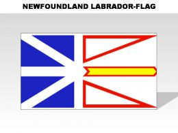 New Foundland Labrador Country Powerpoint Flags