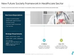New Future Society Framework In Healthcare Sector Financial Ppt Guidelines