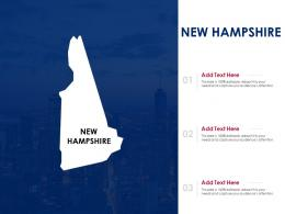 New Hampshire Powerpoint Presentation PPT Template