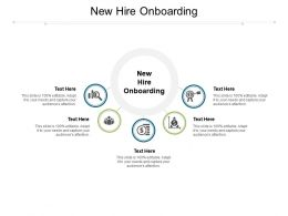 New Hire Onboarding Ppt Powerpoint Presentation Gallery Slides Cpb