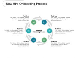New Hire Onboarding Process Ppt Powerpoint Presentation Show Example Cpb