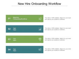 New Hire Onboarding Workflow Ppt Powerpoint Presentation Styles Mockup Cpb