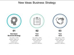 New Ideas Business Strategy Ppt Powerpoint Presentation Summary Deck Cpb