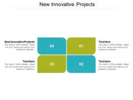New Innovative Projects Ppt Powerpoint Presentation Slides Designs Cpb