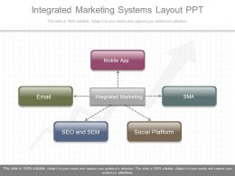 New Integrated Marketing Systems Layout Ppt