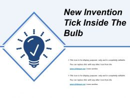 New Invention Tick Inside The Bulb