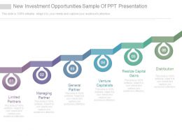 New Investment Opportunities Sample Of Ppt Presentation
