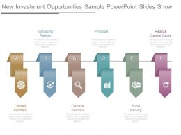 New Investment Opportunities Sample Powerpoint Slides Show