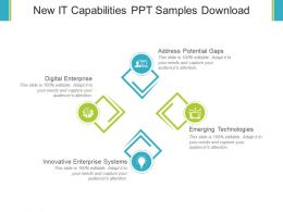 New It Capabilities Ppt Samples Download