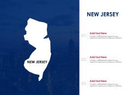 New Jersey Powerpoint Presentation PPT Template