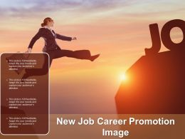 New Job Career Promotion Image