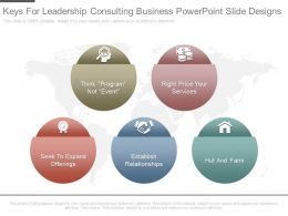New Keys For Leadership Consulting Business Powerpoint Slide Designs