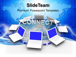 New Laptop Image Powerpoint Templates And Themes Business Logic Presentation