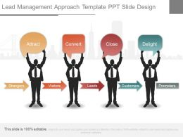 New Lead Management Approach Template Ppt Slide Design