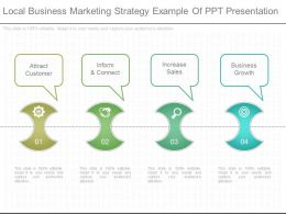 New Local Business Marketing Strategy Example Of Ppt Presentation