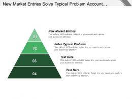 New Market Entries Solve Typical Problem Account Segmentation