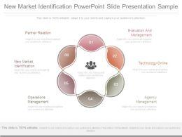 New Market Identification Powerpoint Slide Presentation Sample