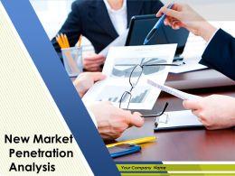 New Market Penetration Analysis Powerpoint Presentation Slides