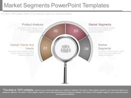 New Market Segments Powerpoint Templates