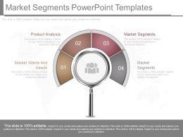 New Market Segments Powerpoint Templates
