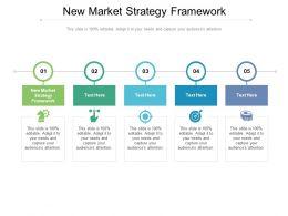 New Market Strategy Framework Ppt Powerpoint Presentation Model Elements Cpb
