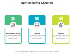 New Marketing Channels Ppt Powerpoint Presentation Portfolio Aids Cpb