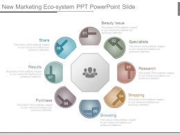 New Marketing Eco System Ppt Powerpoint Slide