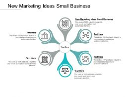 New Marketing Ideas Small Business Ppt Powerpoint Presentation File Cpb