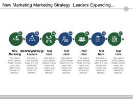 New Marketing Marketing Strategy Leaders Expanding Market