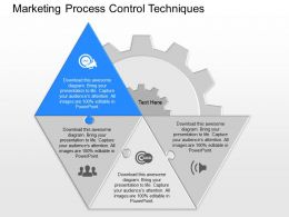 new Marketing Process Control Techniques Powerpoint Template