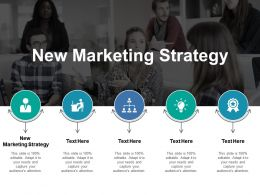 New Marketing Strategy Ppt Powerpoint Presentation Styles Microsoft Cpb