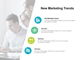New Marketing Trends Ppt Powerpoint Presentation Inspiration Layouts Cpb