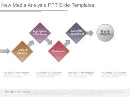 New Media Analysis Ppt Slide Templates