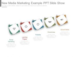 New Media Marketing Example Ppt Slide Show