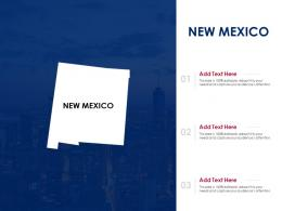 New Mexico Powerpoint Presentation PPT Template
