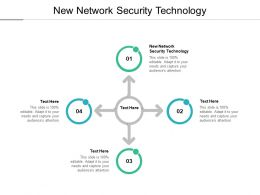New Network Security Technology Ppt Powerpoint Presentation Professional Cpb