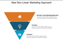 New Non Linear Marketing Approach Ppt Powerpoint Presentation Pictures Cpb