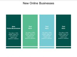 New Online Businesses Ppt Powerpoint Presentation Gallery Clipart Cpb