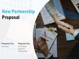 New Partnership Proposal Powerpoint Presentation Slides