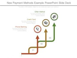 New Payment Methods Example Powerpoint Slide Deck