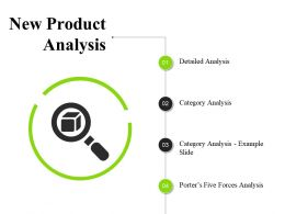 New Product Analysis Ppt Infographic Template